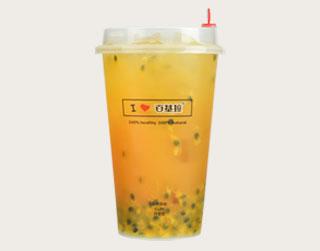 百香鲜果茶